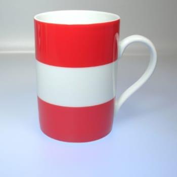 Flaggetasse Österreich