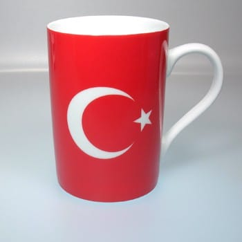 Flaggetasse Türkei