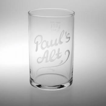 Altbierglas mit Gravur/Namen