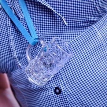 Schnapsglas zum hängen inkl.Gravur