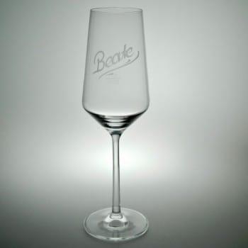 "Champagnerglas2Pure""mit Namen graviert"