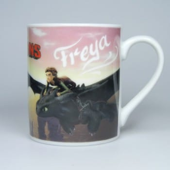 Dragons Tasse mit Namen