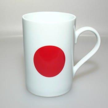 Flaggetasse Japan