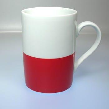 Flaggetasse Polen