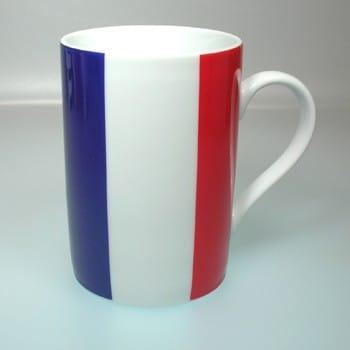 Flaggetasse Frankreich