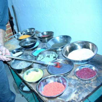Farben bei der Glasherstellung