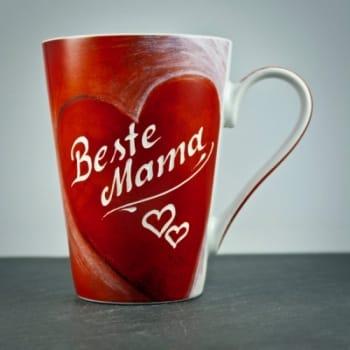 "Kaffeetasse ""Big Heart"" mit individueller Gravur"