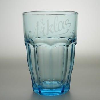 Trinkglas mit Namensgravur