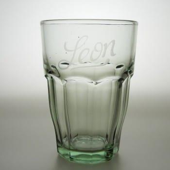 "Trinkglas 37 cl ""Rock Bar"" Grün"