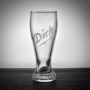 Miniweizenglas mit Namen graviert