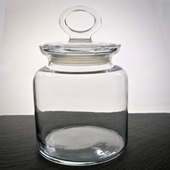 Naschdose 1 Liter aus Glas