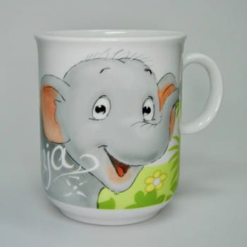"""Kindertasse Dschungeltiere """"Elefant"""""""