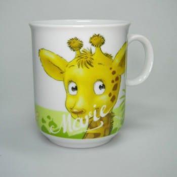 """Kindertasse Dschungeltiere """"Giraffe"""""""