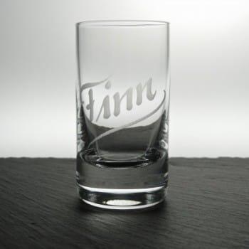 Schnapsglas Paris mit Gravur