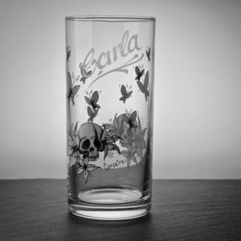 Trinkglas Pirat mit Namensgravur