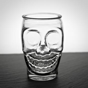 Trinkglas Skull mit Namensgravur