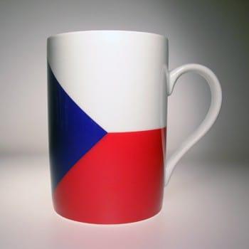 Flaggetasse Tschechische Republik