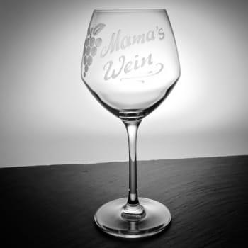 """Weinglas Traube """"Cabernet""""35 cl mit personalisierter Gravur"""