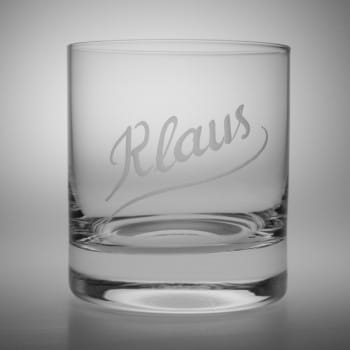 Whiskyglas Paris Namensgravur