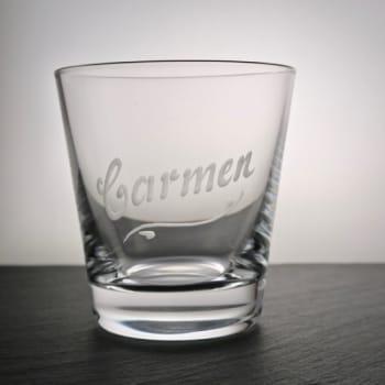 Whiskyglas Grandville mit Namen graviert