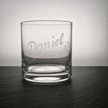 Whiskytumbler Versailles mit Namen personalisiert