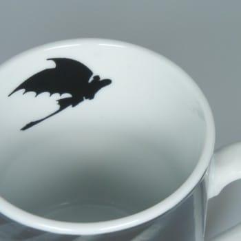 Dragons-Tasse mit Gravur