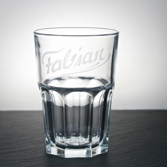 longdrinkglas trinkglas 300 ml mit individueller namensgravur. Black Bedroom Furniture Sets. Home Design Ideas