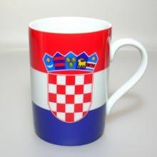 Flaggetasse Kroatien