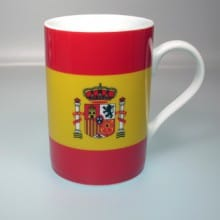 Flaggetasse Spanien