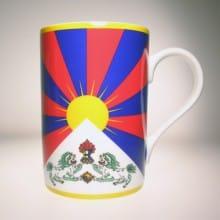 Flaggetasse Tibet