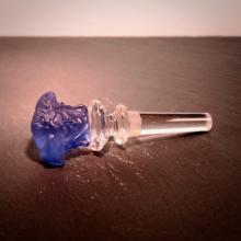 Flaschenstopfen Medusa Blau