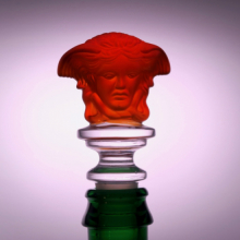 Weinverschluss Medusa Rot
