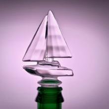 Weinverschluss Segelboot