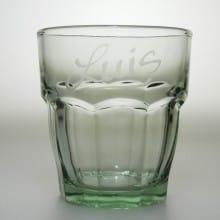 "Trinkglas 27 cl ""Rock Bar"" Grün"