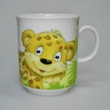 """Kindertasse Dschungeltiere """"Leopard"""""""