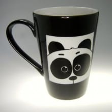 Porzellantasse Panda