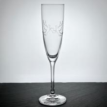 """Sektglas """"Classico"""" Motivgravur """"Tauben & Herzchen"""""""
