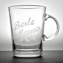Personalisiertes Teeglas