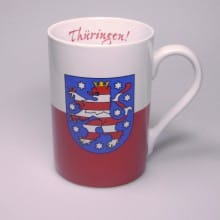 Flaggetasse Thüringen