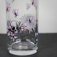 Trinkglas Pirat mit Namensgravur Detail