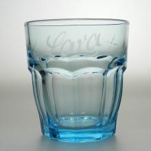 """Trinkglas 27 cl """"Rock Bar"""" Blau"""