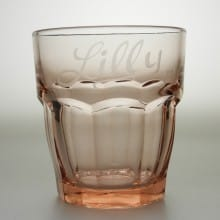 "Trinkglas 27 cl ""Rock Bar"" Peach"