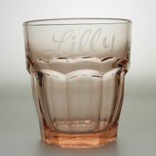 "Trinkglas 27 cl ""Rock Bar"" Peach"