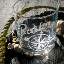 Whiskyglas Nautic mit Gravur