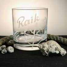 Whiskybecher Nautic mit Namensgravur