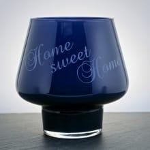 "Windlicht 15x15 ""Home sweet Home"""